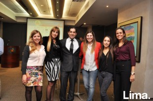 Luciana Escobal , Lillian Baigorria , David Vargas , Fiorella Bragagnini , Vanesa Kossmehl y Milka Aguinaga