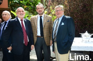 Luis Ossio, Jose Miguel Capdevila y Nicolas Keskemethy