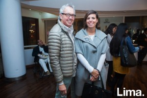 Marco Testino y Claudia Pareja