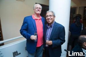 Richard Fluhr y Rudy Hernández