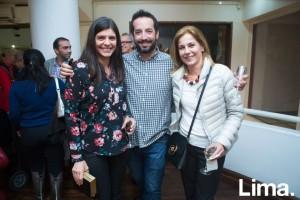 Marinés Dalmau, Miguel Bentin y Lourdes Schwartmann