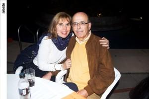Mary Grace y Patricio Colloma en noche de salsa, Los Cóndores
