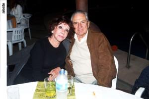 Susana Molina y Guillermo Sarria en noche de salsa, Los Cóndores