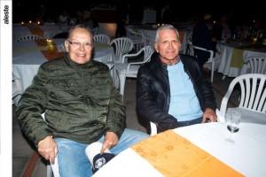 Julio Balbuena y Carlos Linares en noche de salsa, Los Cóndores