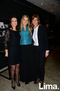 Madeleine Osterling, Pamela Sylvester y Gilda Belaunde
