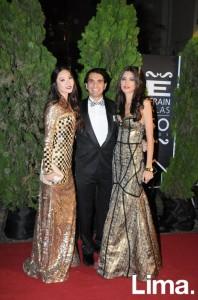 Maple San, Carlos Andrés Luna y Stephanie Schiller