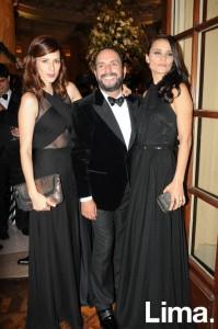 Micaela Gálvez, Efraín Salas y Giuliana Weston