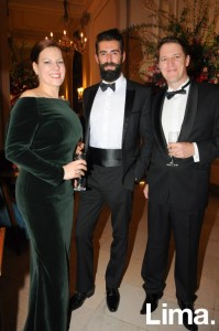 Nathalie McCaughey, Sergio Bardon y Stephen McCaughey