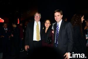 Nicolás Keskemethy, Natalia Maklouf y Flavio Calda