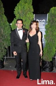 Roger Loayza y Viviane Fiedler