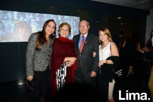 Romina Vasquez, Tibisay Monsalve, Carlos López y Maria Ballesteros