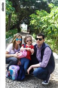 Denisse, Maia y Salo Spak en La Gloria del Campo, Pachacámac.