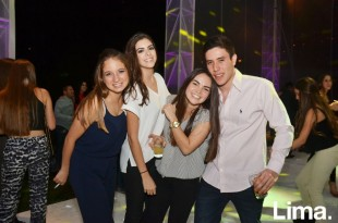 Sofía Tschudi , Bridget Osterling , Camila Odio y Matías Fernández