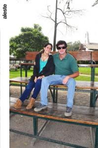Tania Zimmermann y Carlos Borda