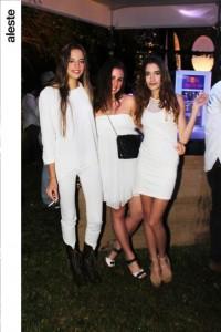 Valeria Cavigiolo, Valeria Osterling y Camila Correa.