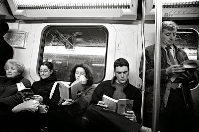 lectura en bus