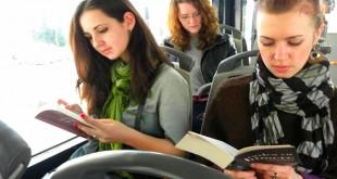 leer en el bus