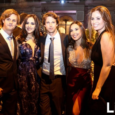 Alessio Corno, Fabiola Franco, Álvaro Piqueras, Alieska Balarín y Daniela Hernández