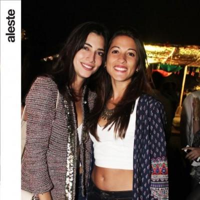 Andrea de Izcue y Michelle Garreaud