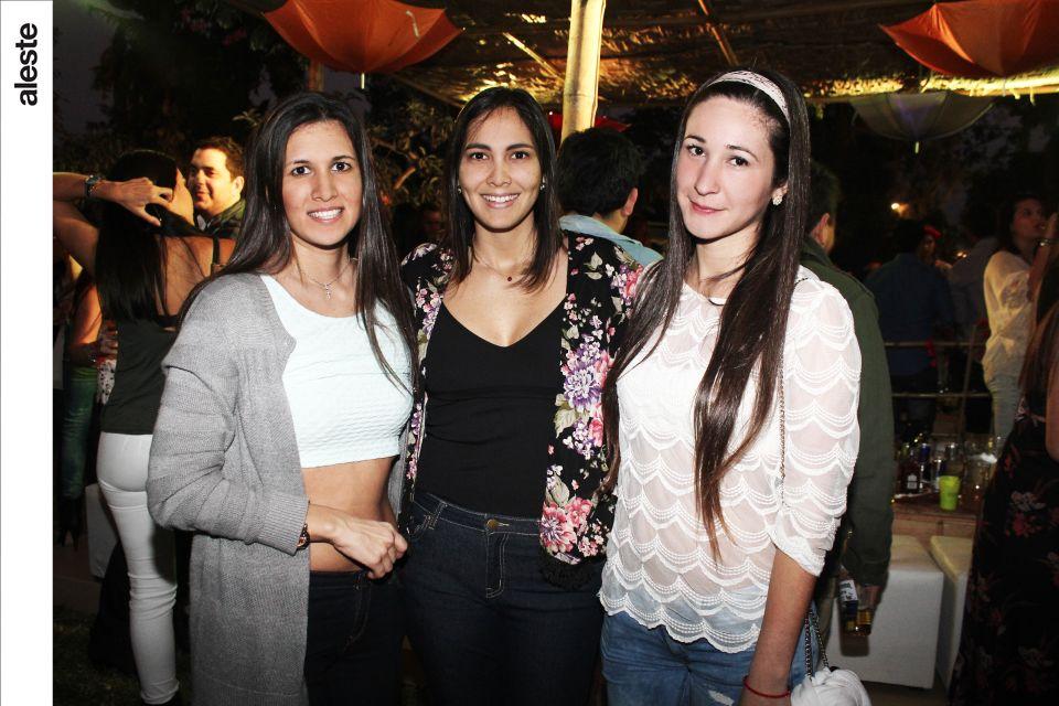 Camila Pataro, Ornella Semino y Channel Serpa