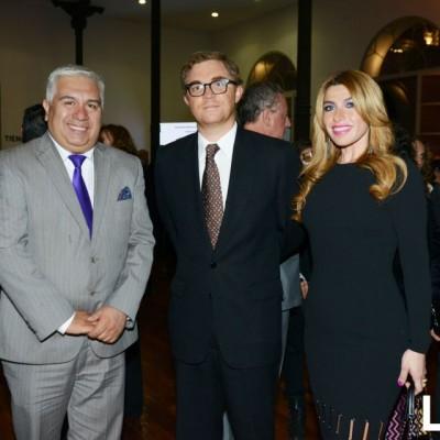 Carlos Castagnola, Juan de la Puente y Jenny Guitiérrez