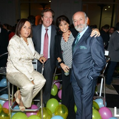 Cecilia de Roca Rey, Frank Mitchell, Micaela Uranga y Alvaro Roca Rey.
