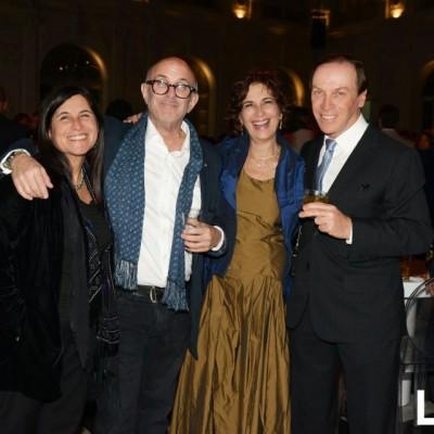 Delia Ackerman, Arnie Rottmann, Cinthya Prutzki y  Henry Prutzki.