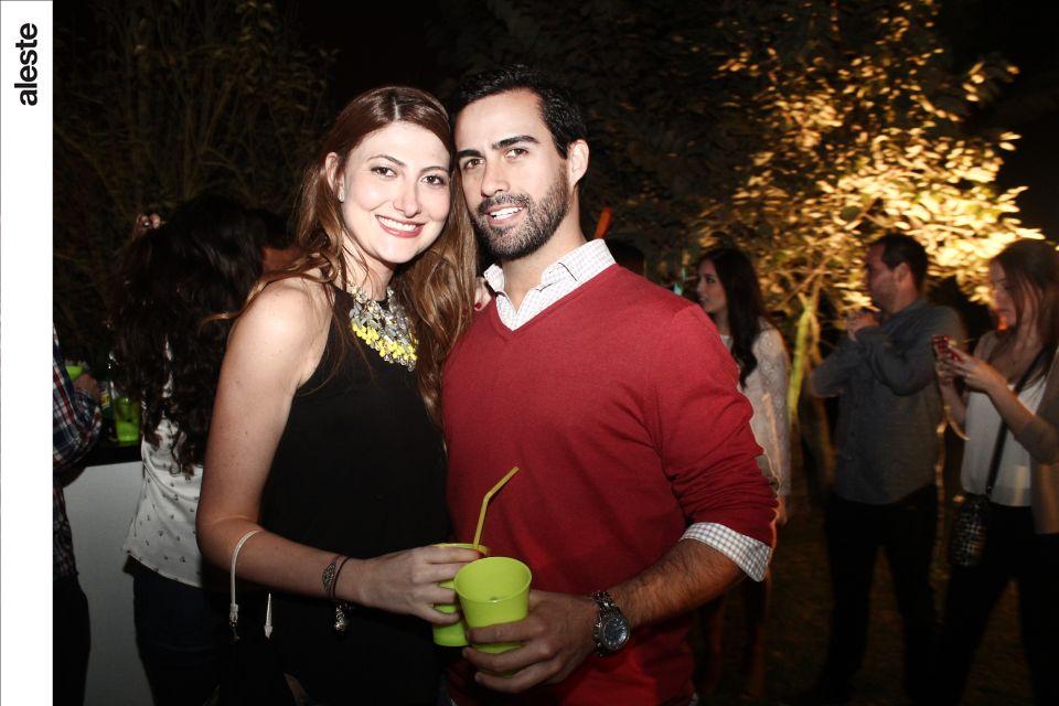 Denisse Zaidan y Laureano Rodrigo