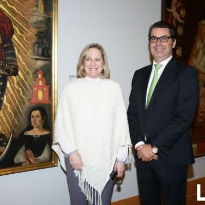 Diana Alvarez-Calderón y Petrus Fernandini