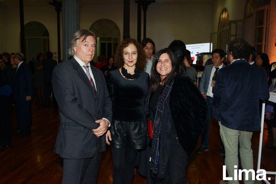 Fernando Muñoz, Rocio Rodrigo y Delia Ackerman
