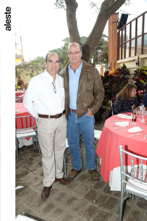 Flavio Carillo y Aurelio Fernández