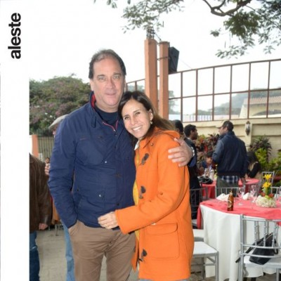 Héctor Rospigliosi y Julie Freundt