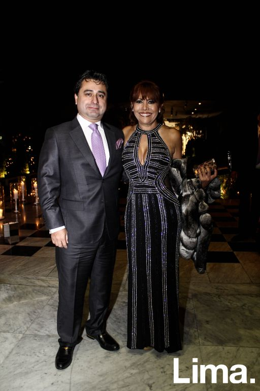 Alfredo Zambrano y Magaly Medina