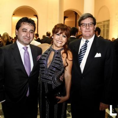 Alfredo Zambrano, Magaly Medina y Rafael Rey