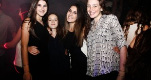 Ida Wolfenson, Emily Ladman, Daniela Falkon y Noa Behar