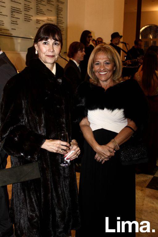 Lili Collimboy y Analía Hoyle