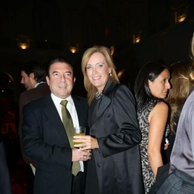 Luis Alegre  y Karin Morris.