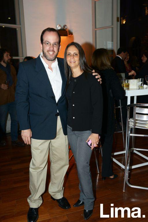 Marcus Gruner y Jesica Vaisman