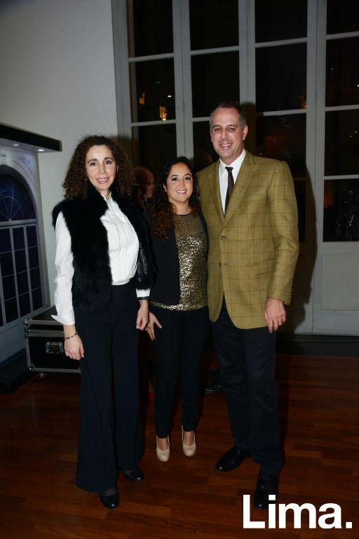 Maria Isabel Pastor, Rocio Franco y Manuel Cases