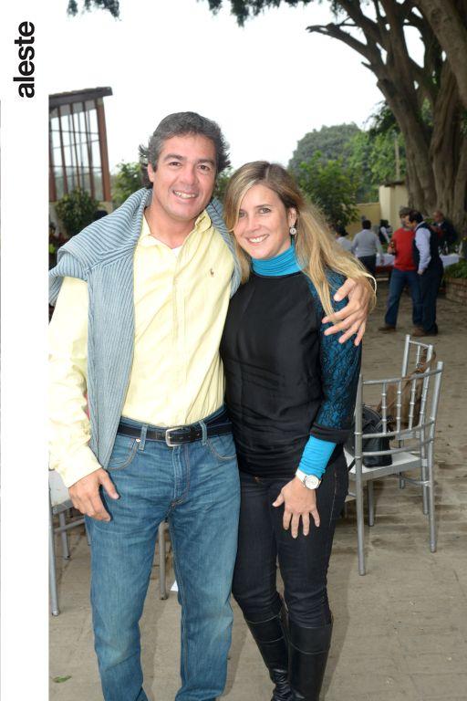 Martín Suzuki y Denise Vigil