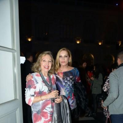 Martha Mifflin y Amalia Ferrero.