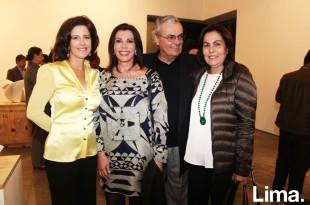 Rosalie Stenning, Melissa León de Peralta, Gustavo Eguren y Amalia de Escardó