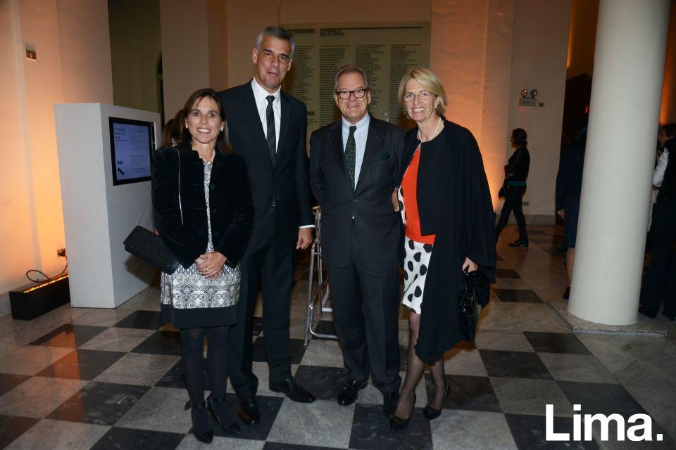Susy Arnano, Jose LLosa, Andrés y Mónica