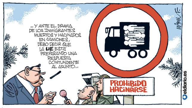 Próxima legislación europea. Manuel, El Diario.