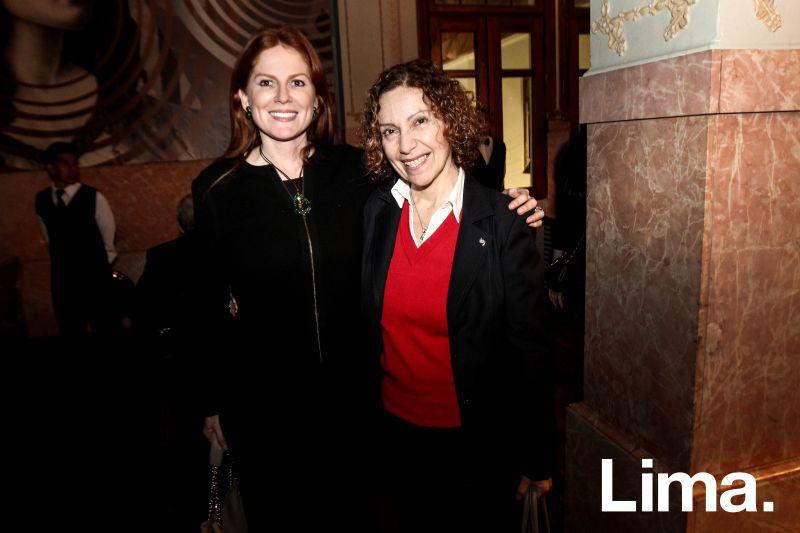 Ingrid del Solar y Lily LLanos