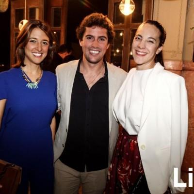 Ariana Albarrán, Ramón Aguilar y  Delia Rodríguez