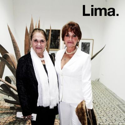 Blanca Pastor y Giana de Rivero