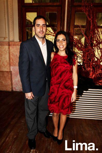 Rodrigo Abasolo y Deborah Kouri