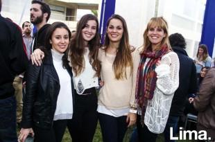 Muriel Metuaze, Alejandra Carvallo, Alejandra Kaiser y Fátima Barbero