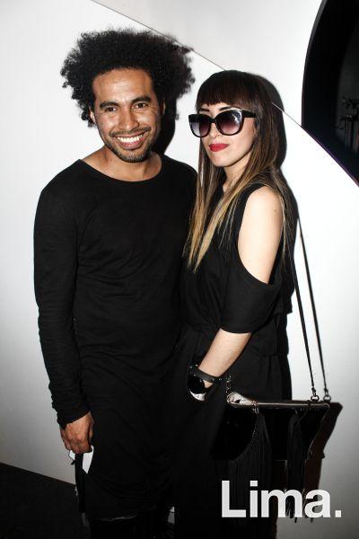 Omar Valladolid  y  Kathia Puga